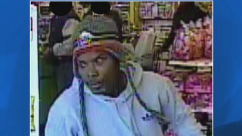 Ladrón armado con cuchillo es buscado por robar en un negocio de Brownsv...