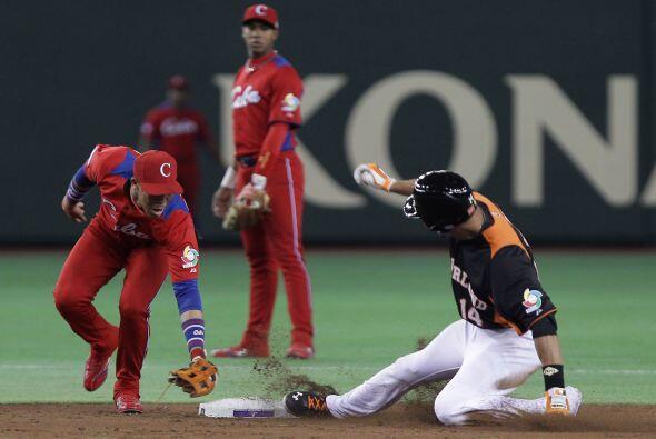El Tokio Dome vio cómo a los cubanos se les escapó el partido de las man...