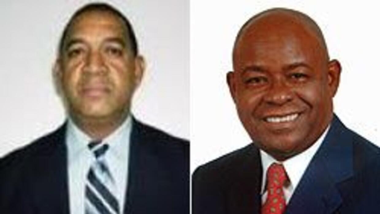 Los dominicanos Luis De la Cruz y Manuel Richardson compiten por el esca...