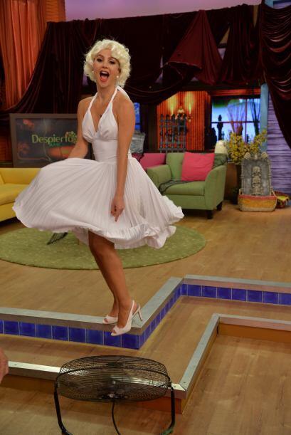 Ximena Córdoba encarnó a esta guapa y sensual mujer.
