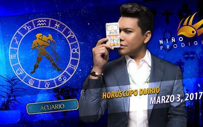 Niño Prodigio - Acuario 3 de marzo, 2017