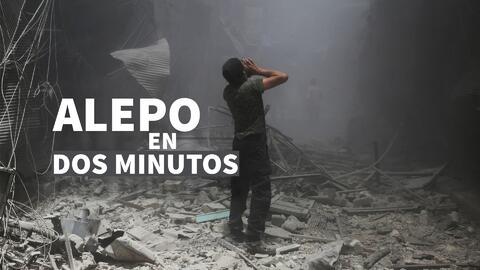 Todo lo que debes saber sobre Alepo en dos minutos
