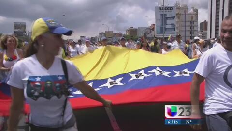 Se realiza parcialmente  el paro general de la oposición venezolana