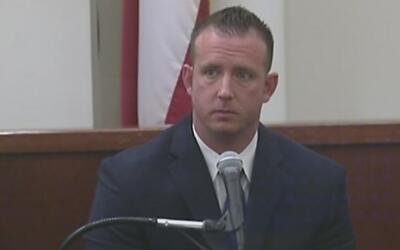 Sigue el juicio contra el oficial acusado de dispararle a un hombre que...