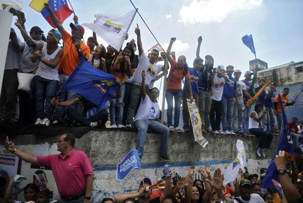 Indicó que al Gobierno de Chávez, quien aspira a la tercer...