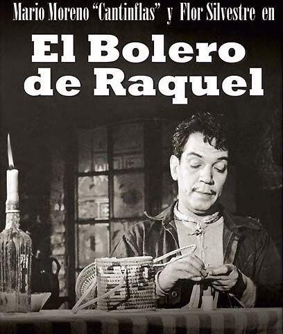 """El bolero de Raquel (1956) """" Cantinflas. En la trama, el limpiabotas o '..."""