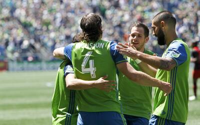 Seattle venció 1-0 a Portland en el Clásico de Cascadia