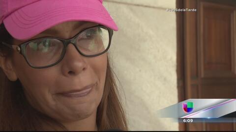 Alba Reyes realiza pedido de justicia frente al Capitolio