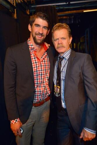Michael Phelps y William H. Macy Más videos de Chismes aquí.
