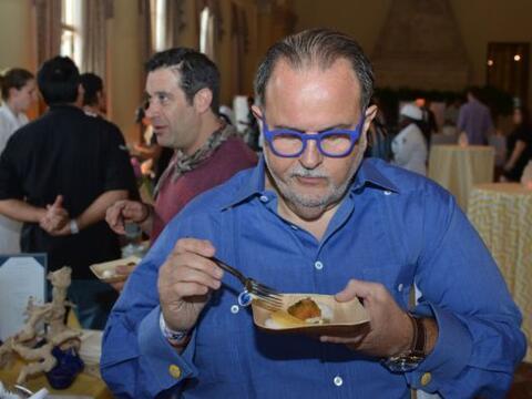 Raúl de Molina fue uno de los jueces de Swine & Wine, que est...