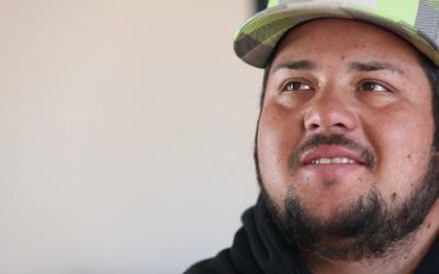 Antonio Díaz Chacón era indocumentado cuando rescat&oacute...