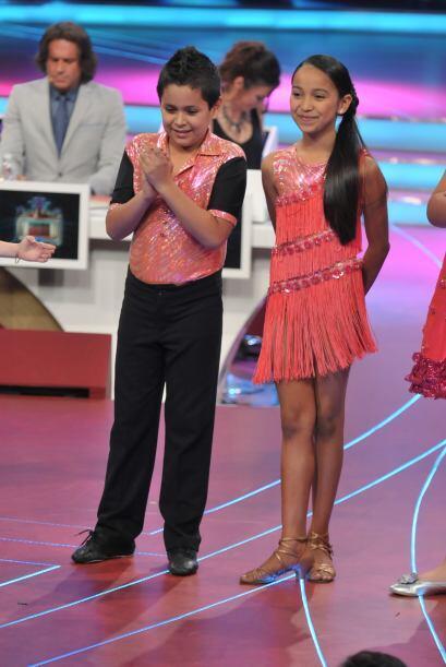 La pareja de baile, Altahir y Jorge, escucharon con atención los...