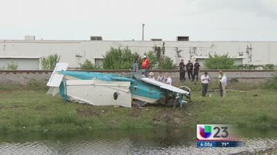 Investigan qué causó que se estrellara avioneta en Miami