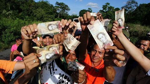 Disturbios y saqueos en Venezuela ante crisis monetaria generada por el...