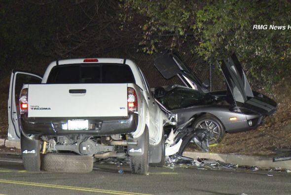 Alvin Javier Gómez, el conductor de 20 años de la camioneta, se rompió e...