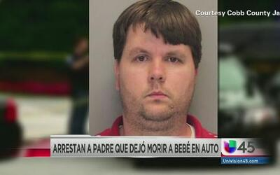Padre dejó a beber morir en un auto