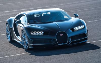 El Bugatti Chiron, reemplazante del Veyron, se convirtió en un co...