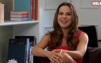Kate del Castillo nos cuenta qué la orilló a ser actriz