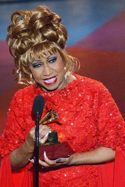 Durante estos años, reconocimientos le sobraron a la cubana. Celia Cruz...