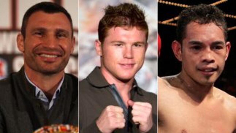 Vitali Klitschko, Saúl 'Canelo' Alvarez y Nonito Donaire fueron elegidos...