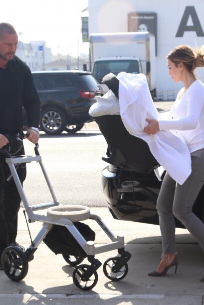 Kim ha confesado que cada vez que tiene que viajar sin su hija sufre muc...