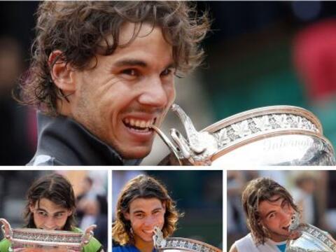 El español Rafael Nadal se convirtió en el tenista masculi...