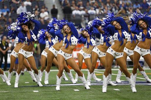Las porristas de la NFL lucieron más que bellas en la tercera jornada, ¡...