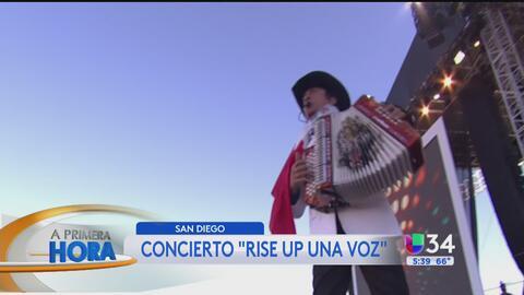 'RiseUp As One' reúne a más de 15,000 personas a favor de la unidad