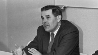 El ex obispo Rogr Vangheluwe en 1984. Una de las pocas fotografías que s...