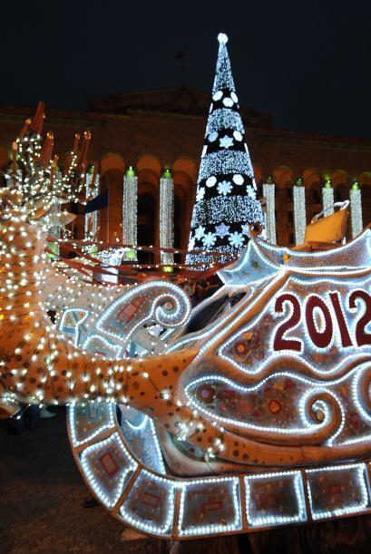 Desde el 25 de diciembre así luce hermosamente decorado para celebrar la...