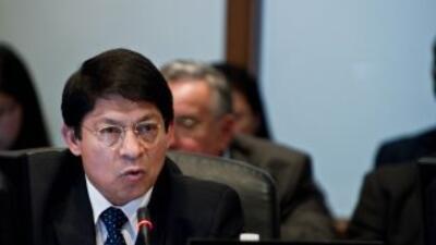 Denis Moncada, embajador de Nicaragua ante la Organización de Estados Am...
