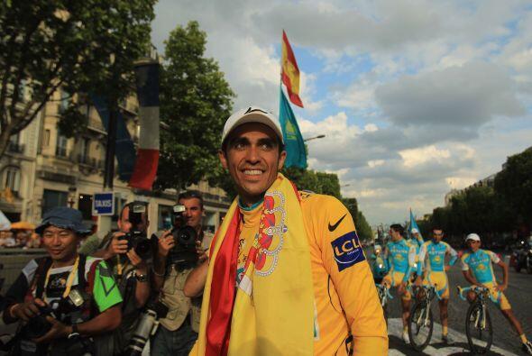 Contador se ha unido a un grupo extraordinario de deportistas espa&ntild...