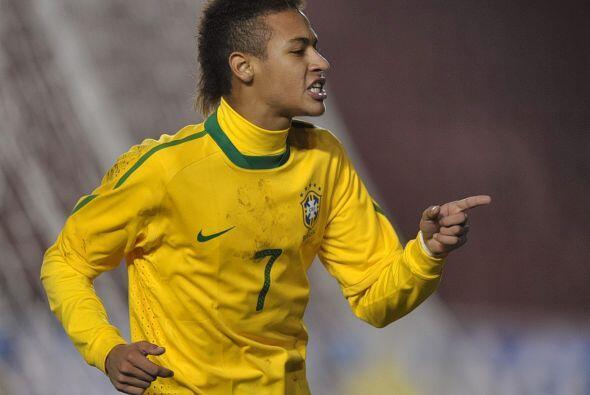 Neymar quedó como máximo goleador con nueve, pero no pudo arrebatarle el...