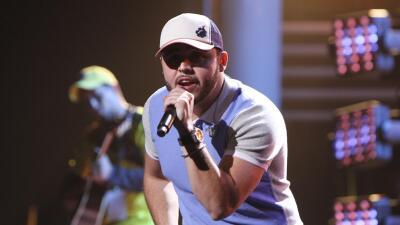 El cantante Gerardo Ortiz.