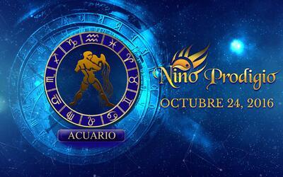 Niño Prodigio – Acuario 24 de Octubre, 2016