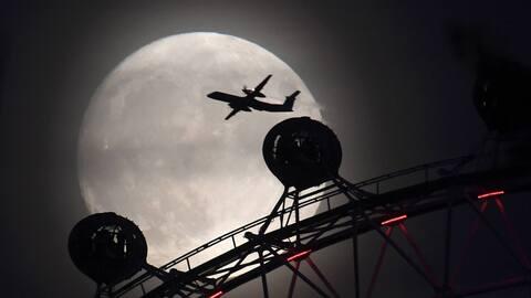 Una imagen tomada en Londres por un fotógrafo profesional de la a...