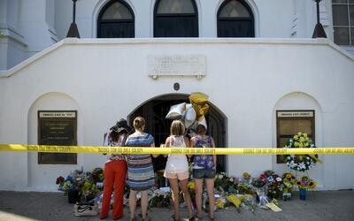 La iglesia afroamericana de Charleston, donde Dylann Roof mató a...
