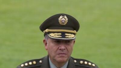 Naranjo fue nombrado director policial en 2007 cuando Santos era titular...