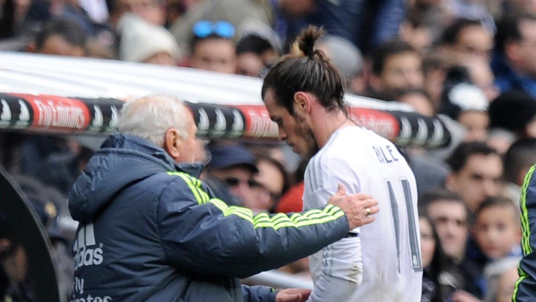 Gareth Bale estará fuera por tres semanas