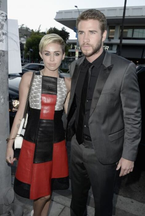 Pero algo le pasó a Miley, al parecer se le zafó un tornillo, y el pobre...