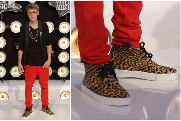Y para finalizar, Justin Bieber no podía quedarse atrás. Este ídolo musi...
