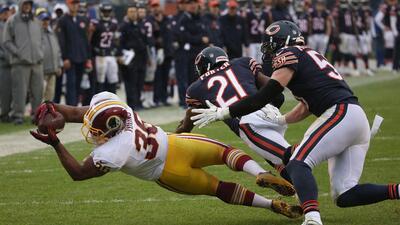 Redskins 24-21 Bears: Washington consiguió su 1ra victoria como visitant...