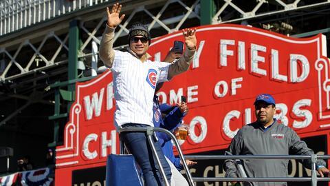 Los Cubs celebraron en su casa por todo lo alto con récord de asistencia...