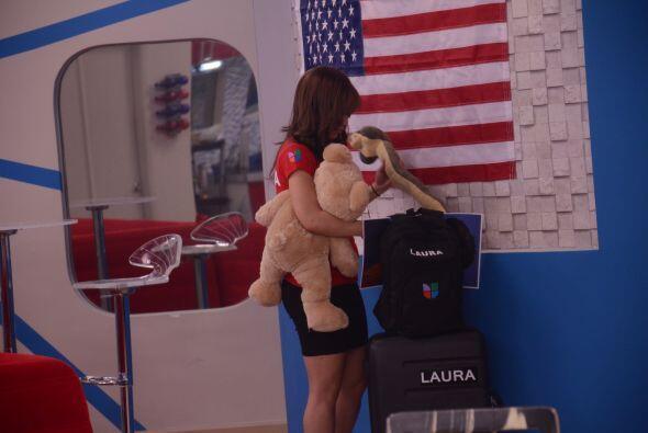 Laura dejó todo listo a la salida de la Casa Estudio. Si sale est...