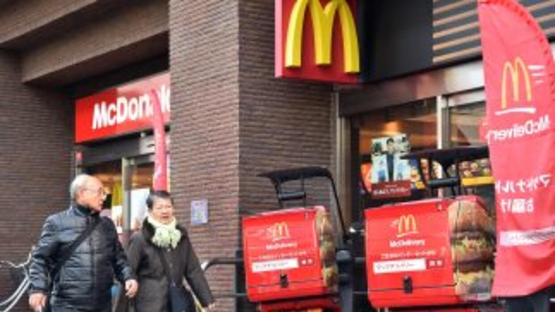 La filial japonesa de McDonald's reveló sus planes de llevar a cabo cont...