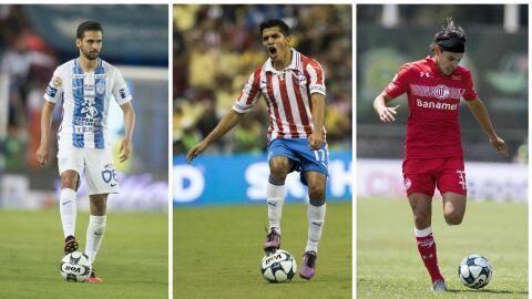 De izquierda a derecha Raúl López, Jesús Sanchez y...
