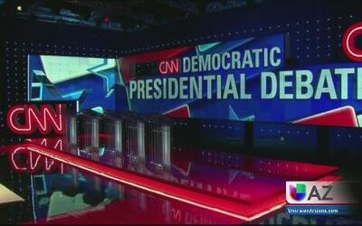 Expectativa ante debate demócrata