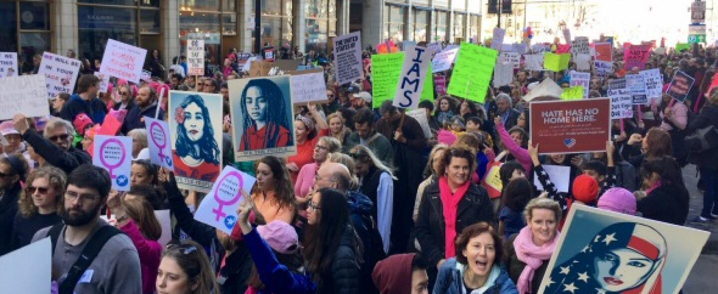 Marcha Mujeres Chicago