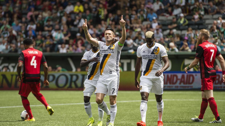 Dos Santos, Keane y Zardes lideraron victoria de LA Galaxy 2-1 ante Port...