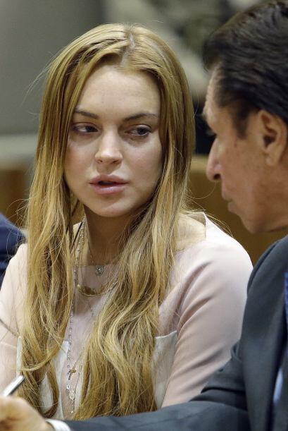 La audiencia era para determinar si Lindsay regresaría a la cárcel cuand...